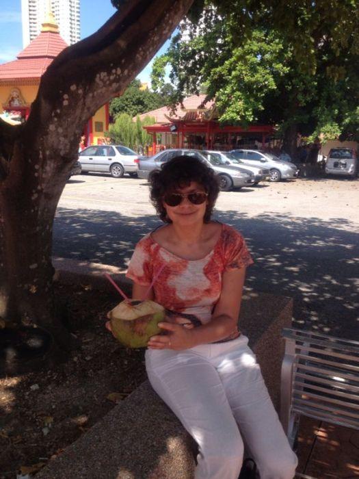 Sheila in Georgetown, Malaysia (dec 2013)