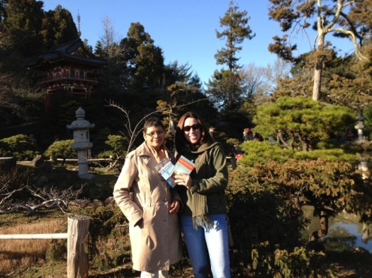 Laurie and Sheila in the Japanse Tea Garden