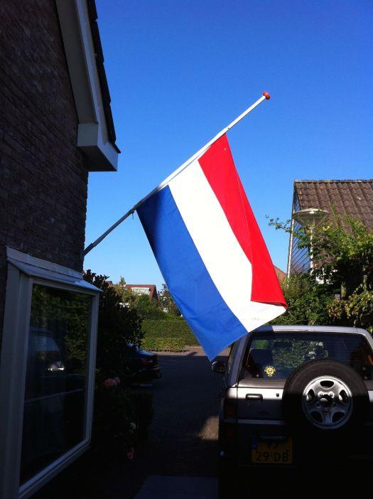 vlag halfstok